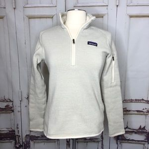 PATAGONIA gray sweater pullover zipper pocket S